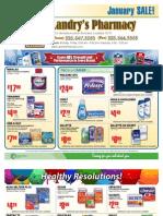 Landry's Pharmacy - January 2011 On Sale Flyer