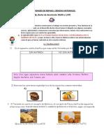 ACTIVIDADES DE REPASO CIENCIAS NATURALES Y MATEMÁTICA
