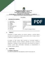 Silabo Análisis de Cktos (2019-II)