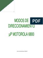 Modos Direccion Amien to 6800
