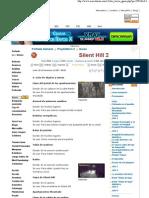 Silent Hill 2 - Guía en MER...