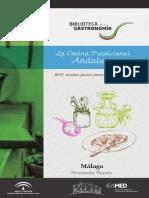 La cocina tradicional andaluza - Malaga.pdf