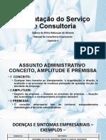 Aula 8 Contratação dos serviços de consultoria