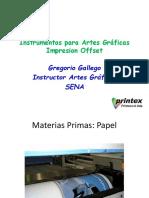 Instrumentos para Artes Gráficas