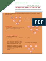 MATEMATICAS 2° OPERACIONES COMBINADAS DE SUMAS Y RESTAS HASTA EL 9999 2 JULIO 2020