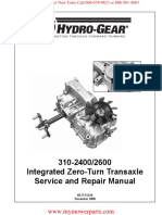 310-2400-2600-Hydro-Gear-Service-and-Repair-Manual