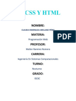 CSS Y HTML