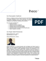 Iheoo Practice Profile_October 2010