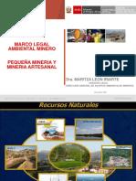 marco legal ambiental pequeña mineria y mineria.pdf