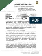 ACTA DE APROBACION DE PRECIO NO PREVISTO Y AJUSTE DE CANTIDADES AL PRESUPUESTO
