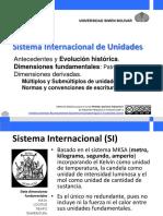 Sistema Internacional de Unidades (Abr-Jul 2020)