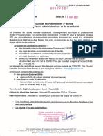 Concours de recrutement en 5e année Techniques administratives et de sec....pdf