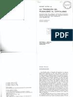 Hilton, Rodney - La transición del Feudalismo al Capitalismo_Parte1.pdf
