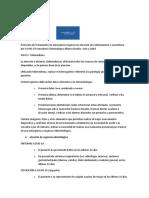 Protocolo de Tratamiento de emergencia Arte y Salud