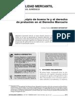 6- El principio de buena fe y el derecho de prelación en el Derecho Marcario