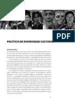 politica diversidad cultural