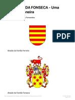 FERREIRA DA FONSECA - Uma Família Pioneira
