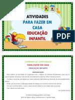 ATIVIDADES PARA FAZER EM CASA EDUCAÇÃO INFANTIL PDF.pdf