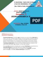 7. HIDRODINÁMICA II