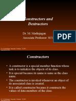 constructor & Destructors