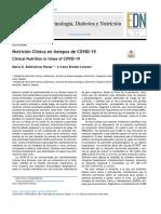 Nutricion Clinica en Tiempos de Covid19