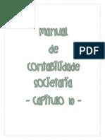 Manual de Contabilidade Societária Cap 10 Resumo