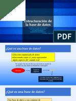 2.3. CONSTRUCCIÓN DE BASE DE DATOS