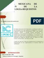 Norma mexicana de la gestión de la tecnología