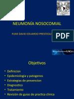 Neumonia nosocomial IDSA 2016