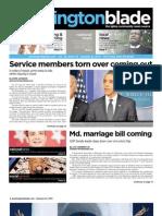 washingtonblade.com - volume 42, issue 03 - january 21, 2011
