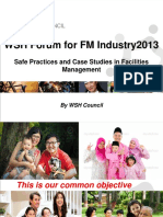 Safe Practices in FM - Case studies