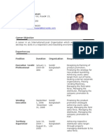 Rasel CV.