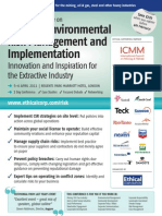 The 2nd Social & Environmental Risk Management and Implementation Conference 2011