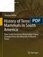 History of Terrestrial Mammals in South America_ How South American Mammalian Fauna Changed from the Mesozoic to Recent Times (2019, Springer International Publishing) - li