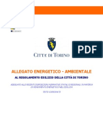 Allegato Energetico Ambient Ale to Edilizio - Torino