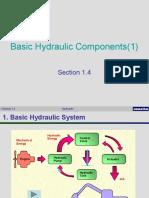 2.1 Basic Hydraulic Components