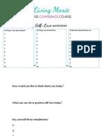 Self-Love-Worksheet by living maxie