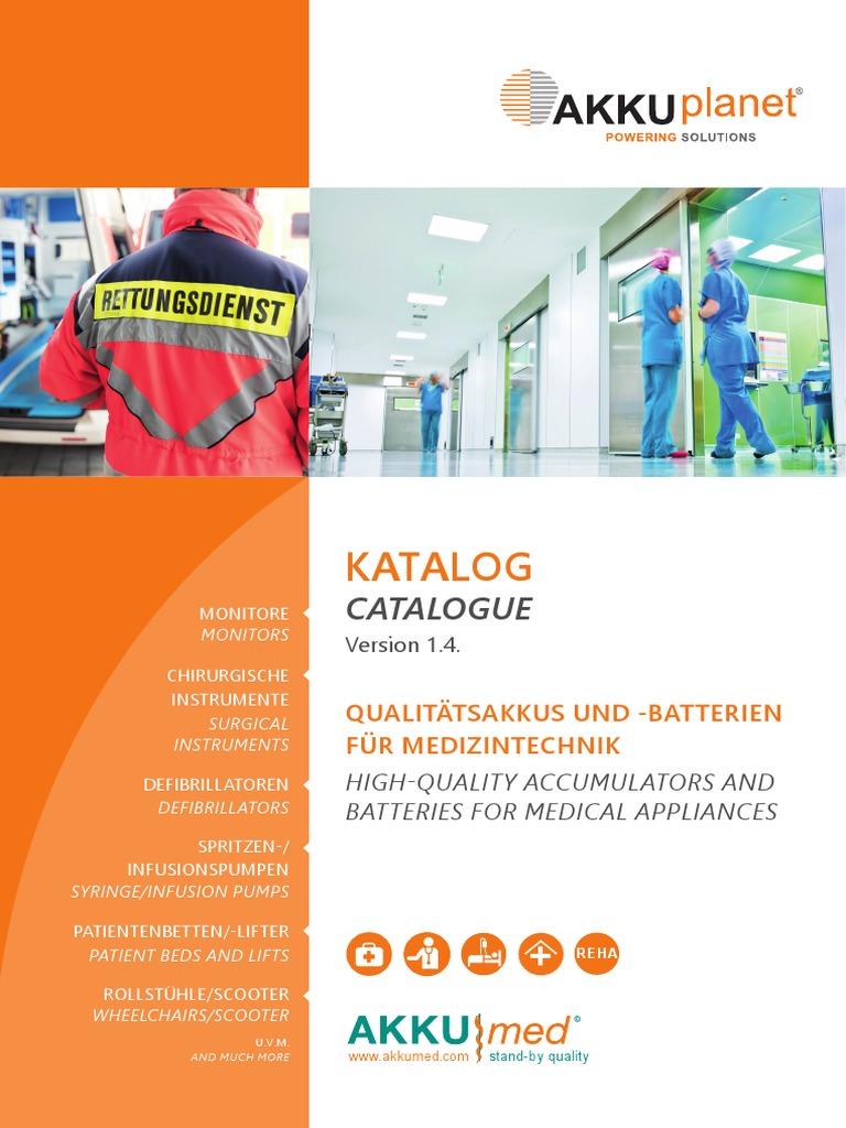 Akkumed Katalog Battery   PDF