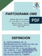 PARTOGRAMA OMS GUIA DE UTILIZACION Y FORMATO HNSEB