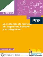 Profnes Biologia Los Sistemas de Nutricion Del Organismo Humano y Su Integracion Docente - Final