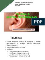 Topik 7 -  Telinga dan sistem pendengaran – dr. Kusuma Eko Purwantari, M. Si..pdf