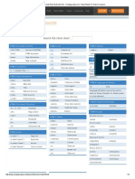 HTML4 Cheat Sheet by DaveChild - Cheatography