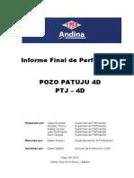 Informe Final de Perforacion PTJ-4D