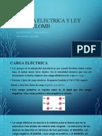 3 LEY DE COULOMB Y  FUERZA ELECTRICA.pptx