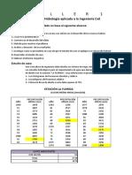 DEBER DE TABLA DE FRECUENCIA