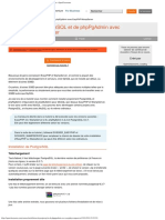 Installation de PostgreSQL et de phpPgAdmin avec EasyPHPWampServer - OpenClassr