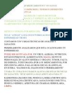 CANSADO DE TOMAR MEDICAMENTOS Y NO MEJORAS