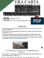 1 Tesalonicenses Capitulo 2 Vers. 1al7