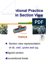 Conventions in Sections