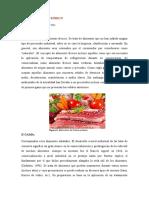 Práctica de frutas y hortalizas